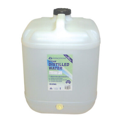 Distilled Water 20 Liters With Tap Attached Underneath THE CAP