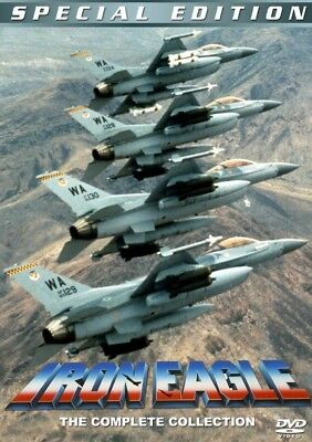Iron Eagle Collection 1 -4   - New Region All ( PAL ) DVD