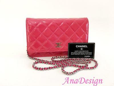 Authentic Chanel Wallet On Chain WOC Crossbody Messenger Bag SHW