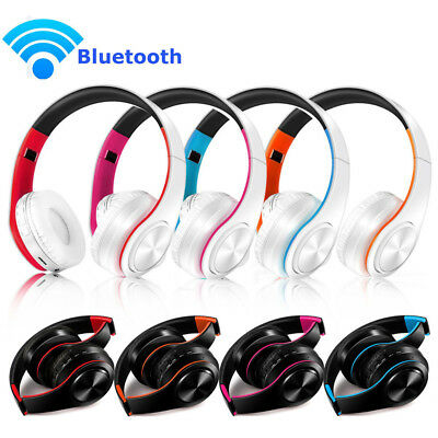 Wireless Bluetooth Foldable Headsets Stereo Headphone Sound Surround Earphone