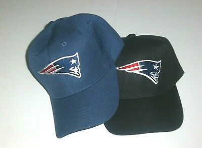 New England Patriots Cap Hat Adjustable NE PATS Curved Pick Your Color/Style New