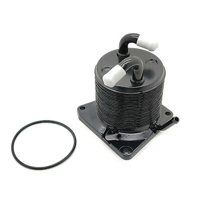 4 ports to Fix Overheating Nissan! IE Works Upgraded CVT Transmission Oil Cooler for 2007-2013 Nissan//Rogue//Juke//Sentra 21606-1XF0A
