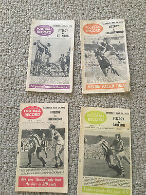 AFL(VFL) Football Records from 1972