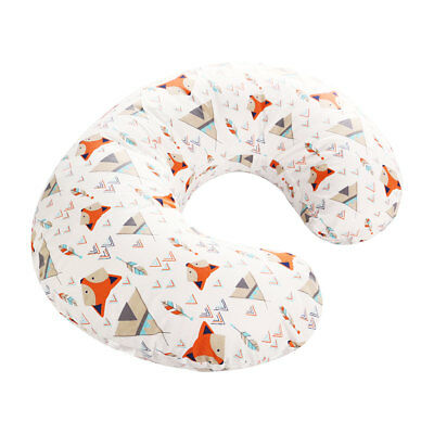 1pc Pillow Cover Soft Comfortable Cotton Breastfeeding Cushion Cover for Newborn