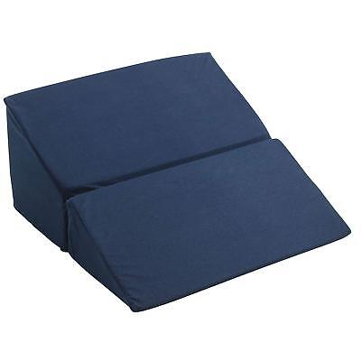 Folding Memory Foam Bed Wedge Pillow Acid Reflux Back Support Cushion Pillows