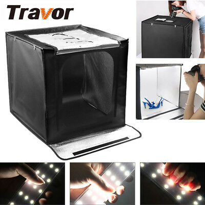 88LED Portable 60CM Photography Lighting Cube Tent Photo Studio Light Box Kit UK