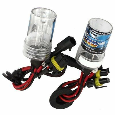 3X(55W H9 HID REMPLACEMENT XENON phares Ampoules Ballast Slim type CONVERSI R7H3
