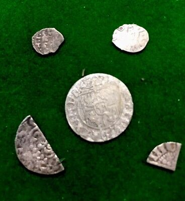 Silver Hammered Coin Bulk Deal Ideal To Resell Or For Research