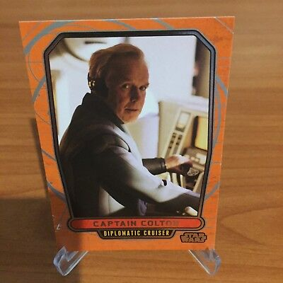 Star Wars Galactic Files Series 2 CAPTAIN COLTON # 445