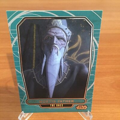 Star Wars Galactic Files Series 2 MORTIS FATHER # 570