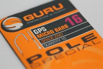 Guru Pole Special Hook / Micro Barbed Coarse Fishing Hooks All Sizes Available