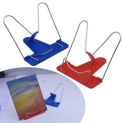 Metal Adjustable Angle Portable Reading Stand Foldable Book Document Holder