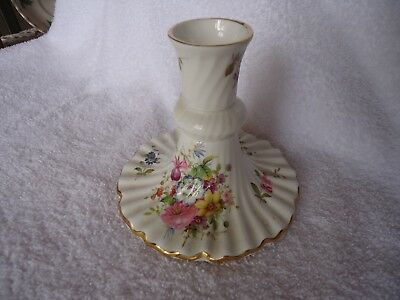 """Hammersley """"FLORAL BOQUET"""" Bone China  CANDLE HOLDER ~ Made In England"""