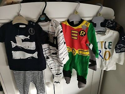 Baby boy clothes 0-3 months bundle new