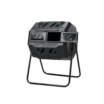 Maze 160L Roto Twin Compost Tumbler Bin at Bunnings Warehouse