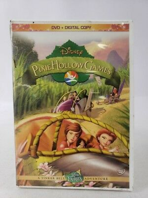 Pixie Hollow Games DVD