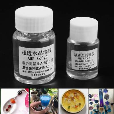 Ultra-transparent Quick DryingAB Crystal Glue Two Component Epoxy Resin Sealant