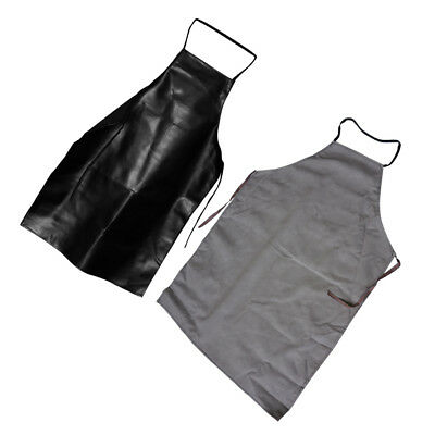 Random FauxLeather Welding Apron Equipment Weld Heat Insulation Protection Apron