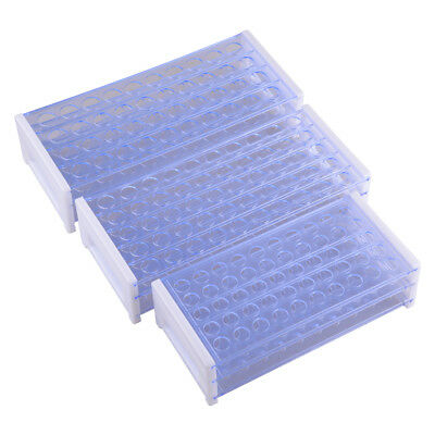 1Pc 3 Layers Lab Test Tube Rack Holder Centrifugal Pipe Stand for 13/16/18mm