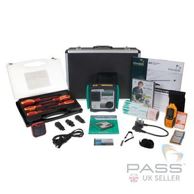 *NEW* Kewtech KT72 Manual Pat Tester - Professional Kit / All in 1 + Software!