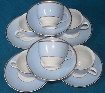 Royal Doulton / Daily Mail Tea Cups And Saucers   Set Of 6
