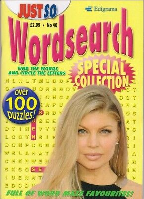 EPIGRAMS Just So Wordsearch Special Edition. Over 100 puzzles