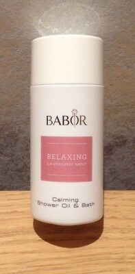 Babor Relaxing Lavender Mint Shower Oil & Bath 50ml.