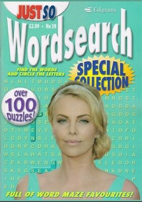 EPIGRAMS Just So no 39 Wordsearch Special Edition. Over 100 puzzles