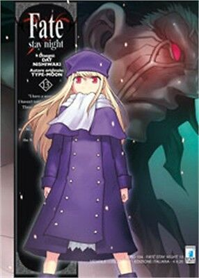 Manga - Star Comics - Fate Stay Night 13 - Nuovo !!!