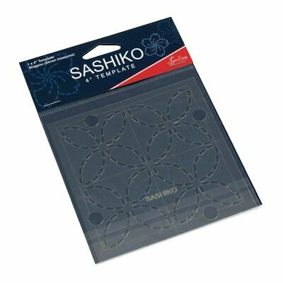 *NEW* Sashiko: 4'' Template: Shippou (Seven Treasures)