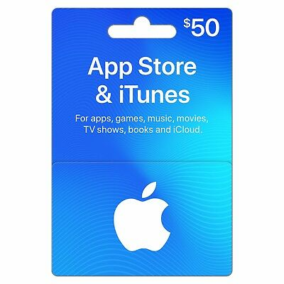 App Store & iTunes $50 Apple Gift Card AU Fast Shipping (early access)