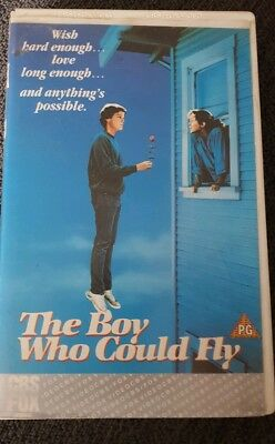 The Boy Who Could Fly Big Box VHS Pal - Jay Underwood