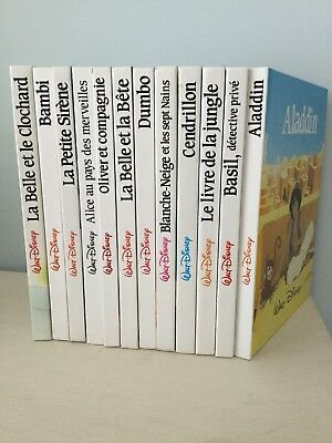 Collection Livres Walt Disney France Loisirs Vintage Eur