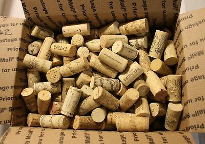 180+ Natural & Synthetic Used Wine Corks - For Art or Crafts - FREE SHIP #2