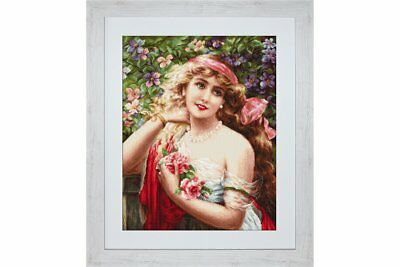 Gobelin kit Young Lady with Roses Petit point G549