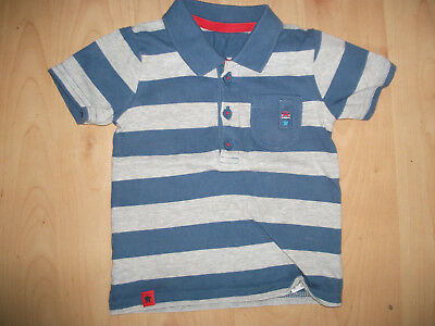 **Babies George T Shirt Blue & Grey Age 6-9 months Good Condition**