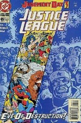 Justice League Europe #  65 Near Mint (NM) DC Comics MODERN AGE