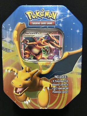 2009 Charizard LV. X Fall Collector's Tin - Factory Sealed