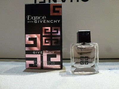 Rare miniature Givenchy Dance with Givenchy  EDT 5 ML