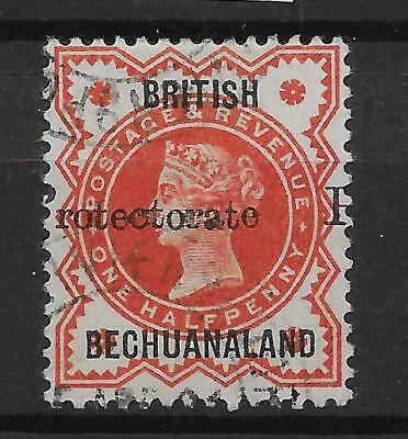 BECHUANALAND SG40 1888 PROTECTORATE ½d VERMILION USED