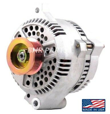 150 Amp Ford Mustang 5.0 3G Alternator 1986-1996 Chrome High Output Performance