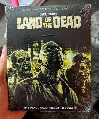 Land of the Dead Collector's Edition (Blu-ray) BRAND NEW!! Shout Factory