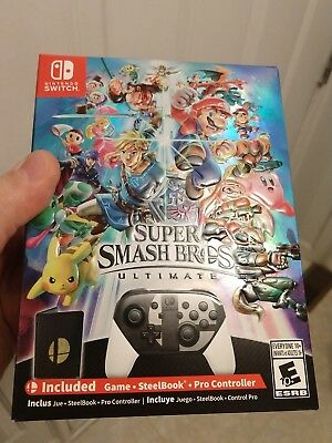 Super Smash Bros. Ultimate Special Edition - Nintendo Switch - New - In Hand