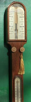 Chadburn Brothers Sheffield & Liverpool Antique Stick Barometer