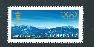Canada #2367i Vancouver 2010 Die Cut From Annual Collection MNH *Free Shipping*