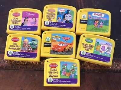 Lot of 7 Leap Frog My First Leap Pad Game Cartridges Leapfrog Leadpad