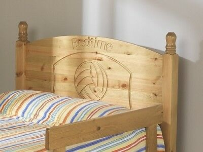 Wood Football Or Teddy Headboard