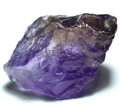 168.80 Ct 100% Natural Bi-Color Bolivia Ametrine Specimen Rough AGSL Certified