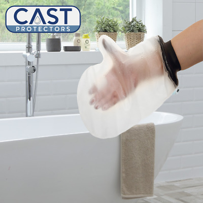 Adult Hand (Mitt) Cast or Dressing Protector - For Use In The Shower or Bath