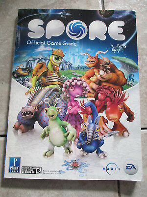 Spore Video Game Official Game Guide by Prima Games Paperback Book